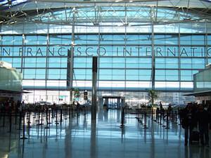 van en naar vliegveld san francisco
